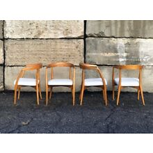 Lawrence Peabody Dining Chairs, Set Of 4