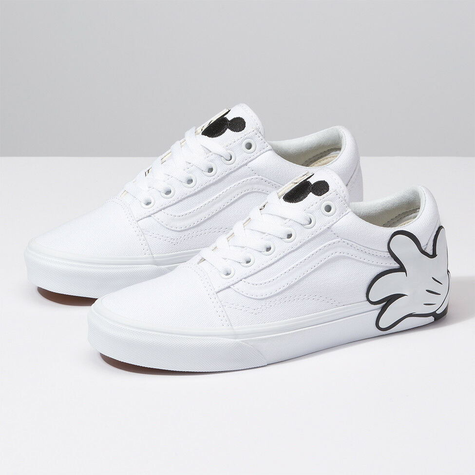 d6b1145da84 Details about VANS x Disney Mickey Mouse Old Skool Skate Sneakers Shoes -  White(VN0A38G1UNC)