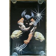 WOLVERINE Poster Art by Blevins Marvel Comics 1991 34 x 22