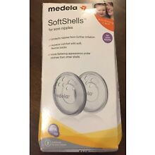 Medela SoftShells Breast Shells For Sore Nipples 80210 NEW BPA FREE