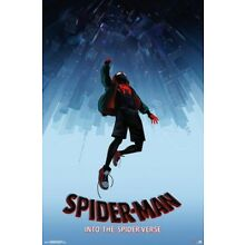 NEW SPIDER-MAN: INTO THE SPIDERVERSE One Sheet 22.75 x 34'' Movie Poster SEALED