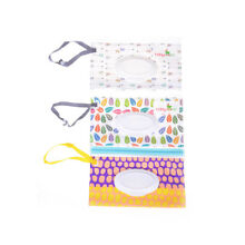 Clean Wipes Carrying Case Wet Wipes Bag  Cosmetic Pouch Wipes Container US