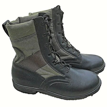 img-Jungle Army Boots Combat Lightweight Military Assault Black Boots