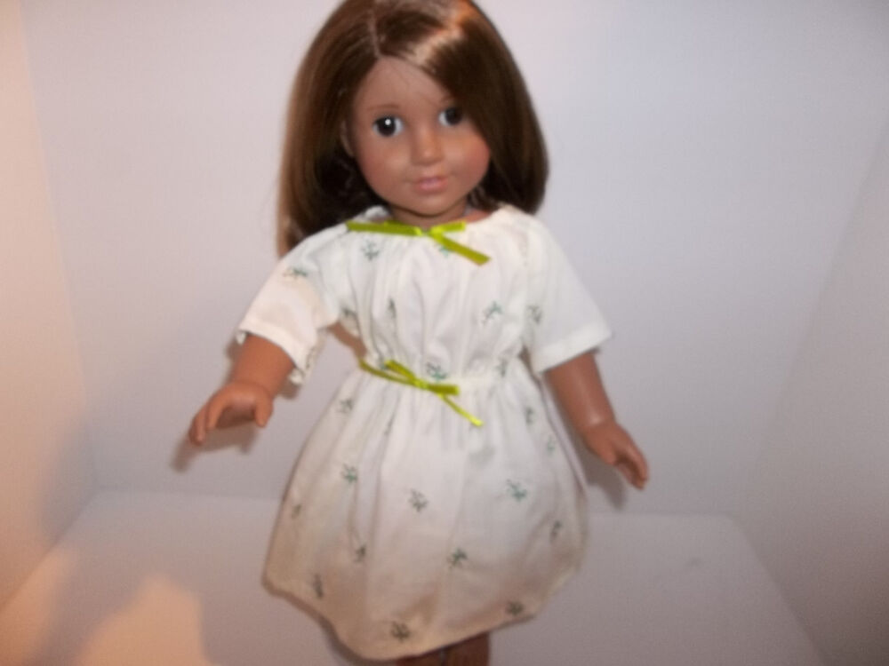 """American Girl doll 18/""""//Bitty Baby Dora Explorer nightgown Dress outfit Clothes"""