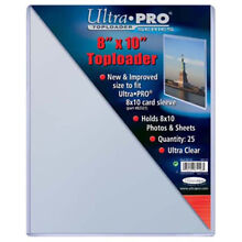 (4) ULTRA PRO 8X10 PHOTO PICTURE IMAGE or PRINT RIGID TOPLOADER STORAGE HOLDERS