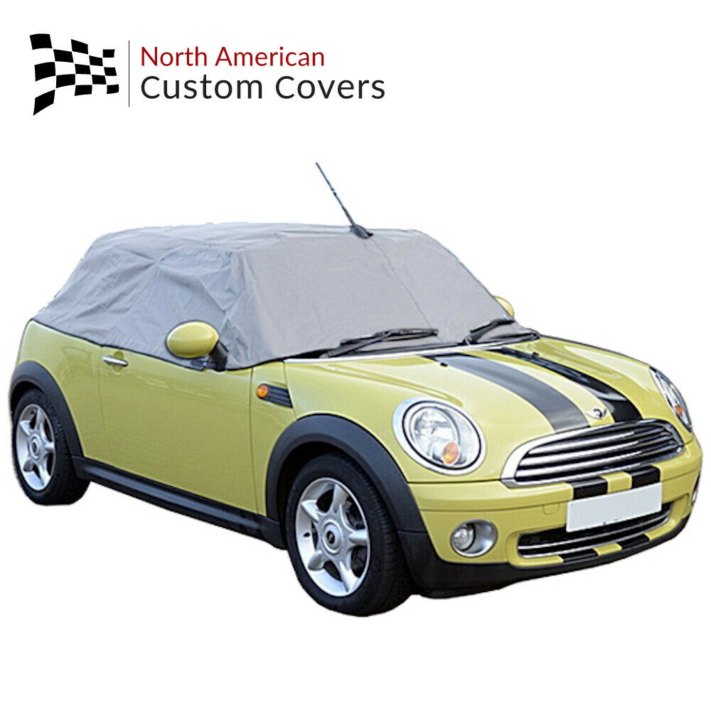 Mini Cooper Convertible Soft Top Roof Protector Half Cover