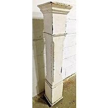 1900's Wooden NEWEL POST Column Stairway Railing VICTORIAN Style Finial ORNATE