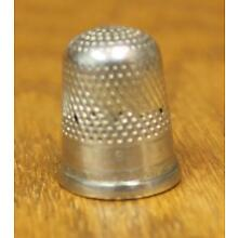 Sterling Silver Thimble No. 8