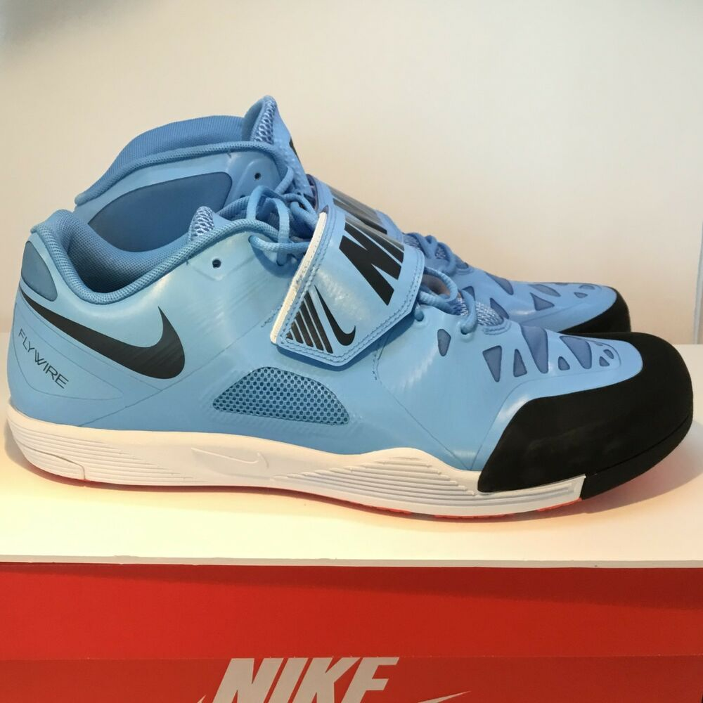 e4bc74213b15 Details about NIKE ZOOM JAVELIN ELITE 2 TRACK THROWING SHOES SIZE 13 BLUE  BLACK 631055-446