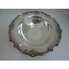 REED & BARTON KING FRANCIS SILVERPLATE #1671 Medium Round Vegetable SERVING Bowl