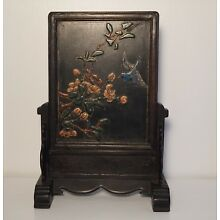 Chinese Antique lacquer Wood Screen