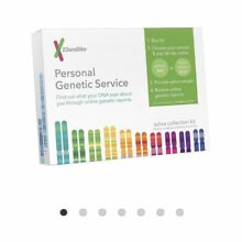 New 23 and Me DNA Kit Personal Genetic Ancestry Saliva Collection Testing Kit