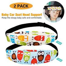 ⭐️ 2 Packs Toddler Car Seat Neck Relief and Head Support Pillow Support Head Ban