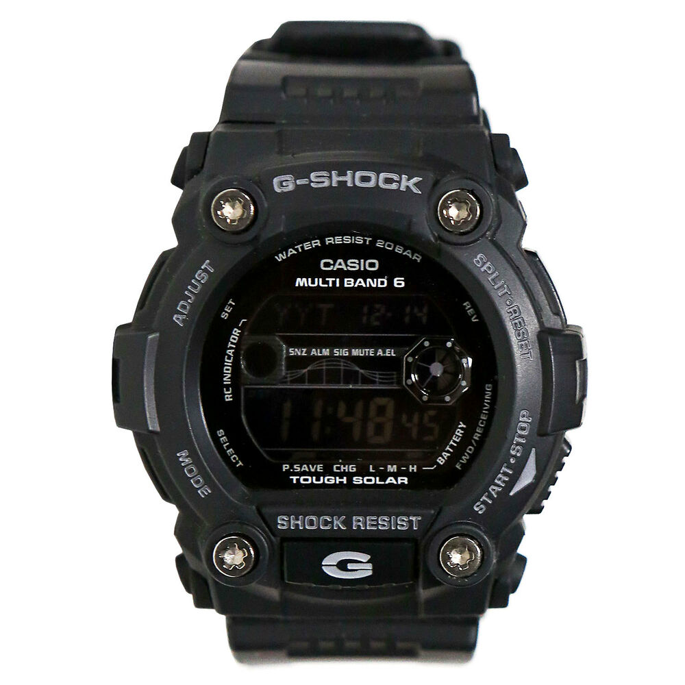 7b6b54836513 Details about Casio Men s GW7900B-1 G-Shock Black Solar Sport Watch