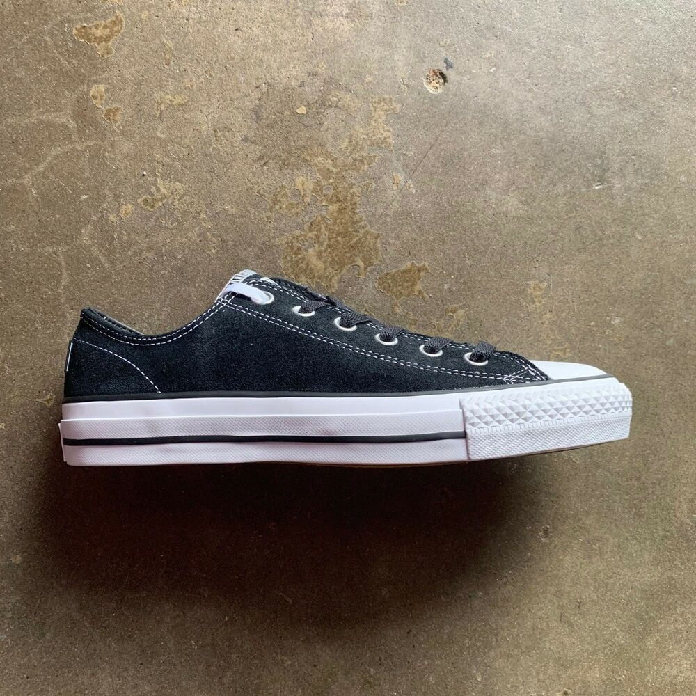 b3fda0e0b898 Details about CONVERSE CTAS PRO OX BLACK BLACK WHITE SIZE 6-11 --FAST  SHIPPING--