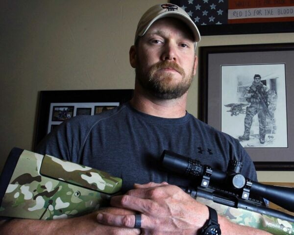 American Sniper Chris Kyle Navy Seal With Gun 8x10 Picture Celebrity Print