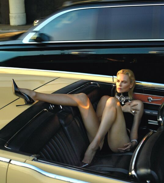 Charlize Theron Sexy Posing In The Car 8x10 Picture Celebrity Print