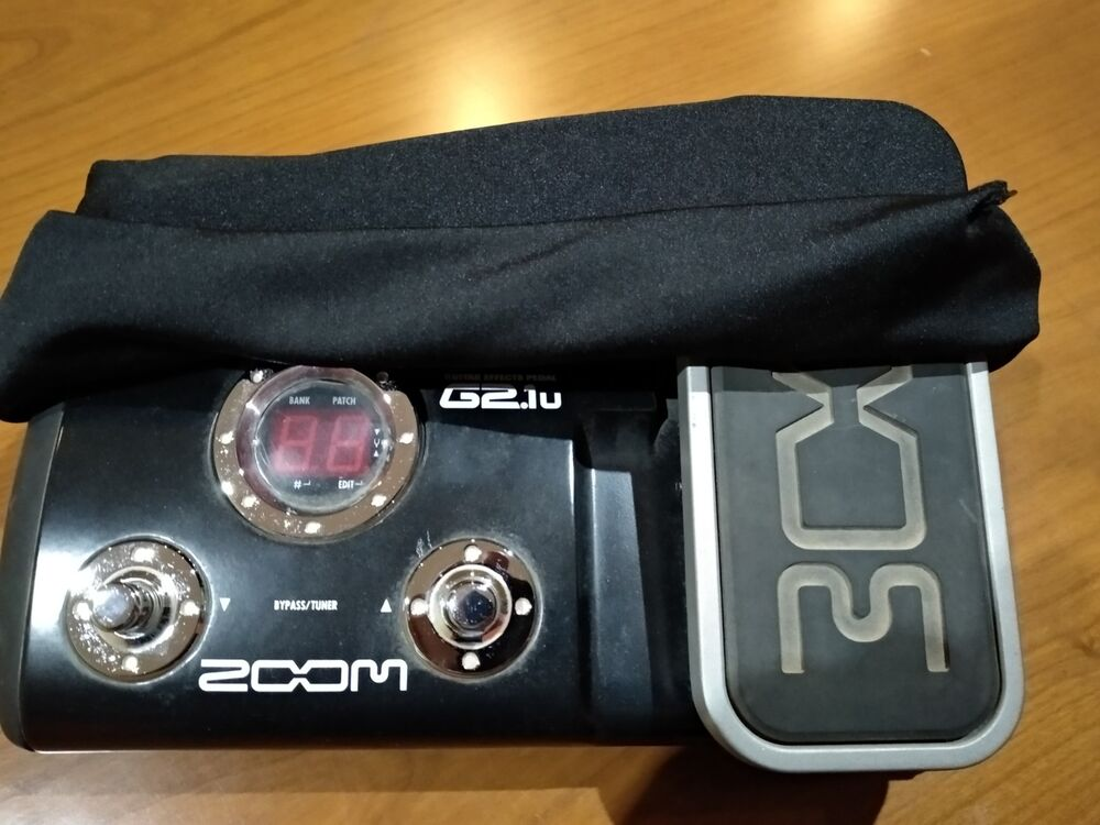ZOOM G2.1KL Guitar Pedal Treiber Windows XP