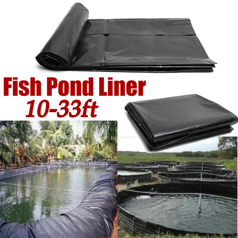 New 8 32ft Fish Pond Liner Gardens Pools Hdpe Membrane