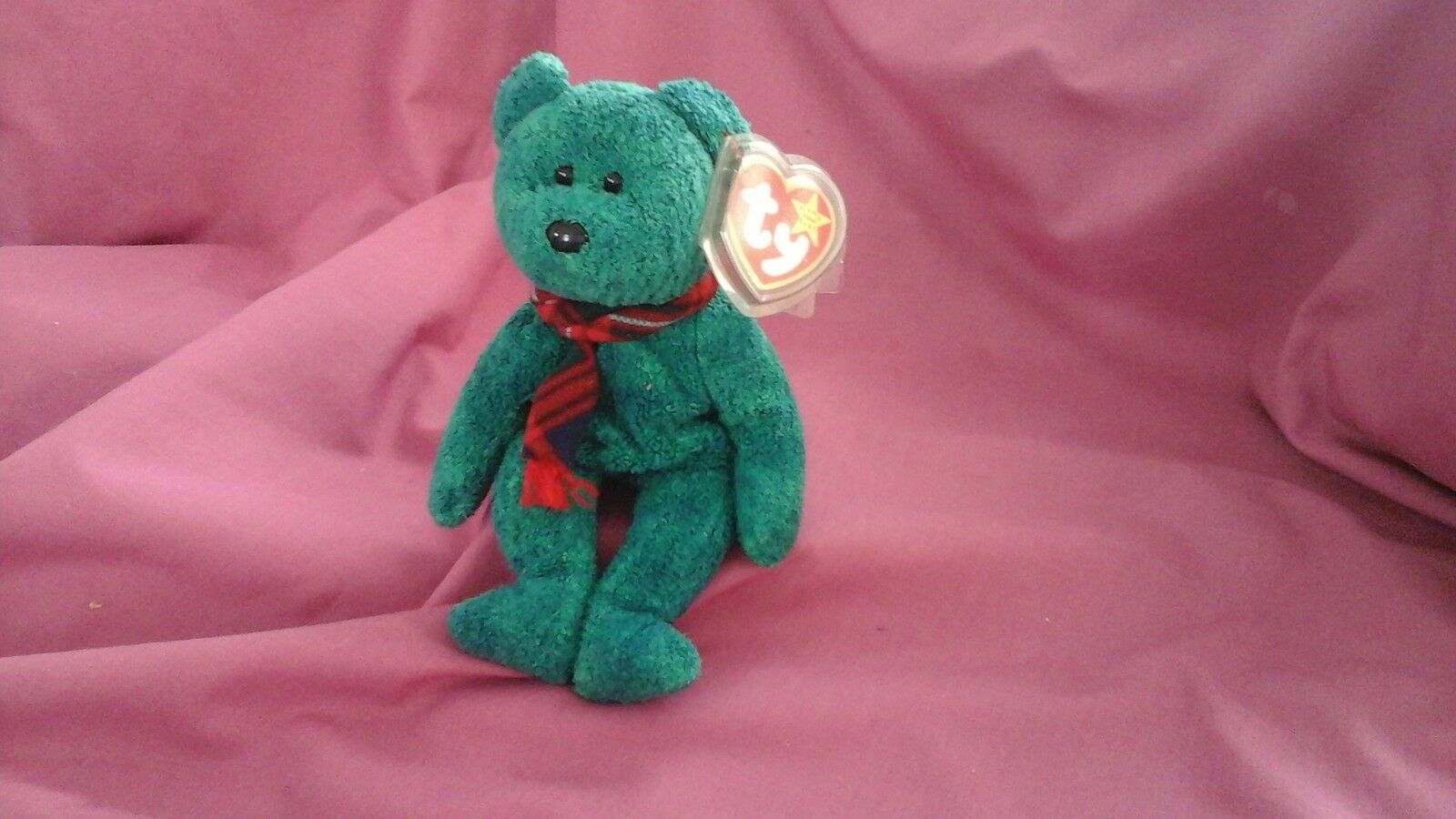 81e45954acd ... UPC 008421042647 product image for Ty Beanie Baby Bear Wallace