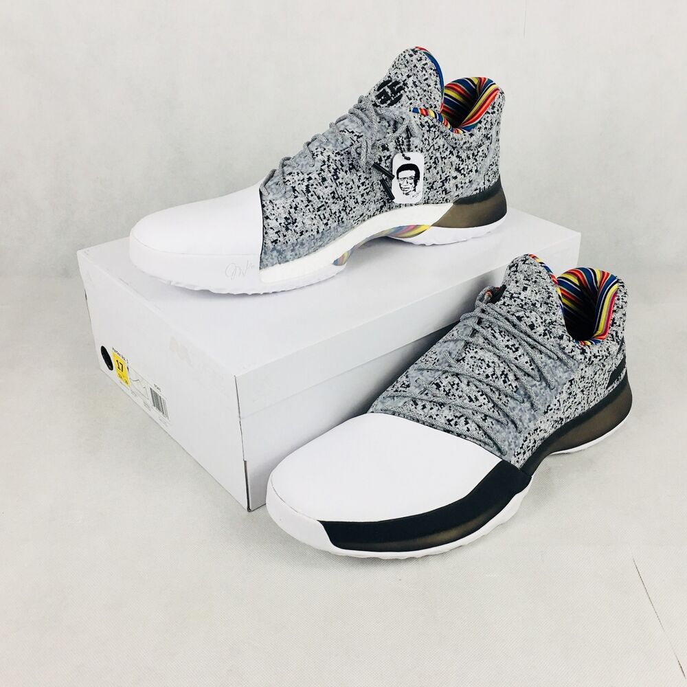 Details about Adidas Harden Vol 1 BHM Arthur Ashe Edition BY3473 Size 17 99a376438ab3