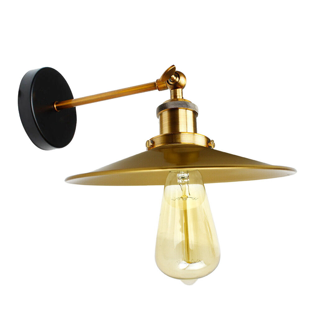 Details about modern vintage retro industrial rustic sconce wall light lamp fitting fixture