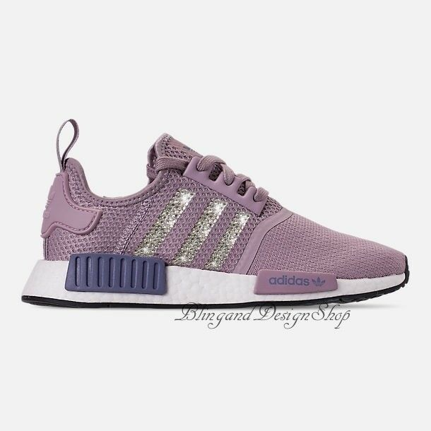 649e7b01a6b Details about NWT Women s Bling Adidas NMD R1 Shoe Custom with Swarovski  Crystals New in Box