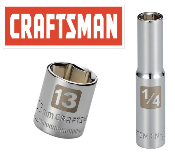 Craftsman Easy Read Socket 1/4