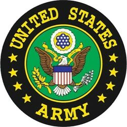 United States Army Seal Outside Window Car Decal