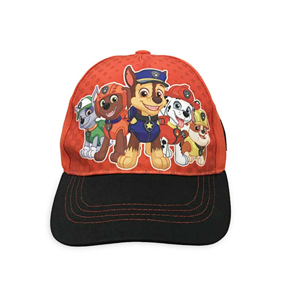 big sale c883a bca35 Nickelodeon Paw Patrol Boys Cotton Baseball Cap, Chase with Friends Age 2-5    eBay
