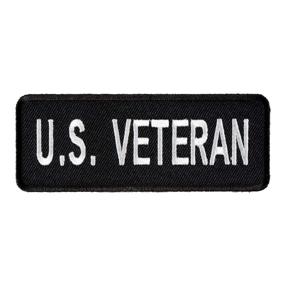 US Veteran Black & White Patch, Military Veteran Patches | eBay