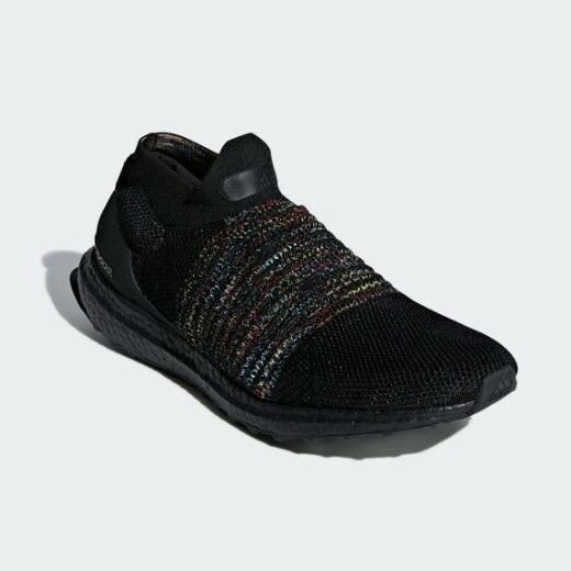 Men's Shoes Sneakers Adidas Ultraboost Laceless New Running Black 7IYb6ygfvm