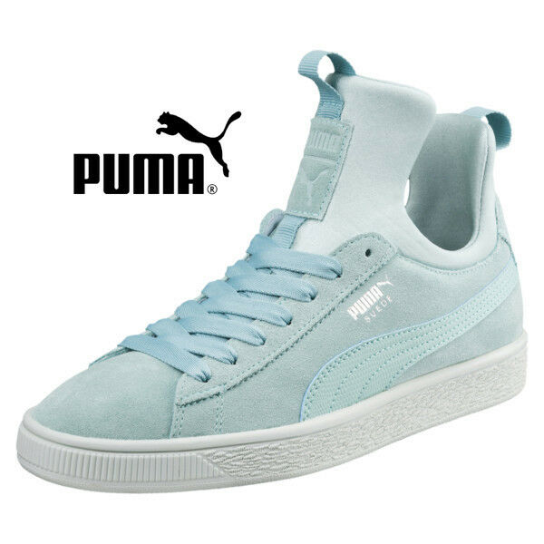 01dc38be1930 Details about NEW Sz. 8 PUMA Women s Suede Fierce Sneakers Athletic Shoes  Aquifer-Blue 366010