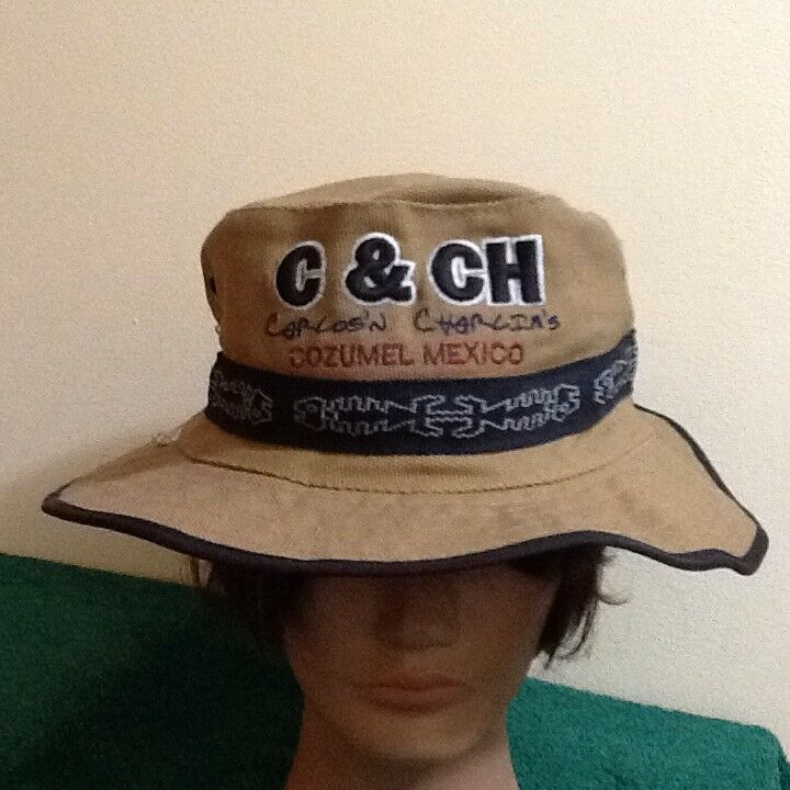 Details about Carlos N Charlie s Cozumel Mexico Heay Cotton Bucket Hat 02f804ab8