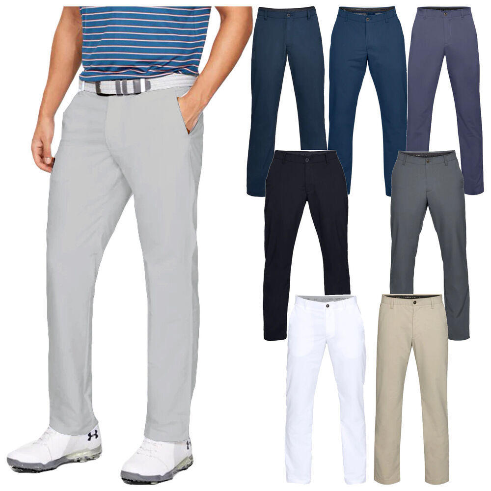 cfd346e3b1639 Details about 2019 Under Armour Mens EU Performance Stretch Tapered Golf  Trousers Pants UA