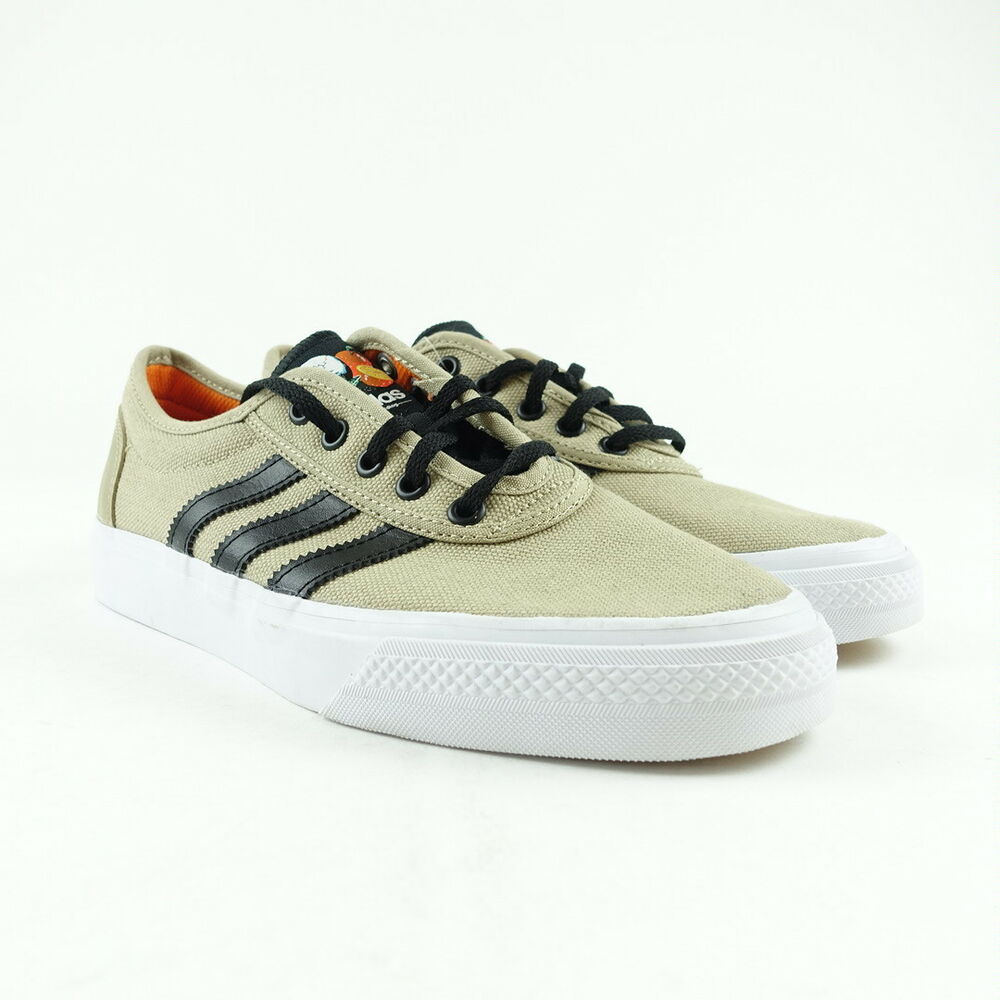 best sneakers 458aa cf869 Details about Adidas Mens Originals Adi-Ease Shoes Gold Black Size 8 DB0409
