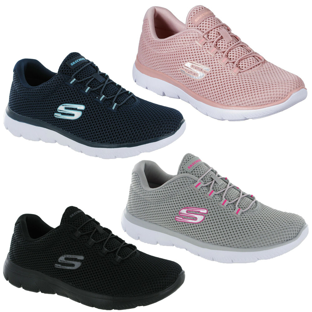 3030ade529 Details about Skechers Summits - Quick Lapse Trainers 12985 Womens Memory  Foam Mesh Shoes