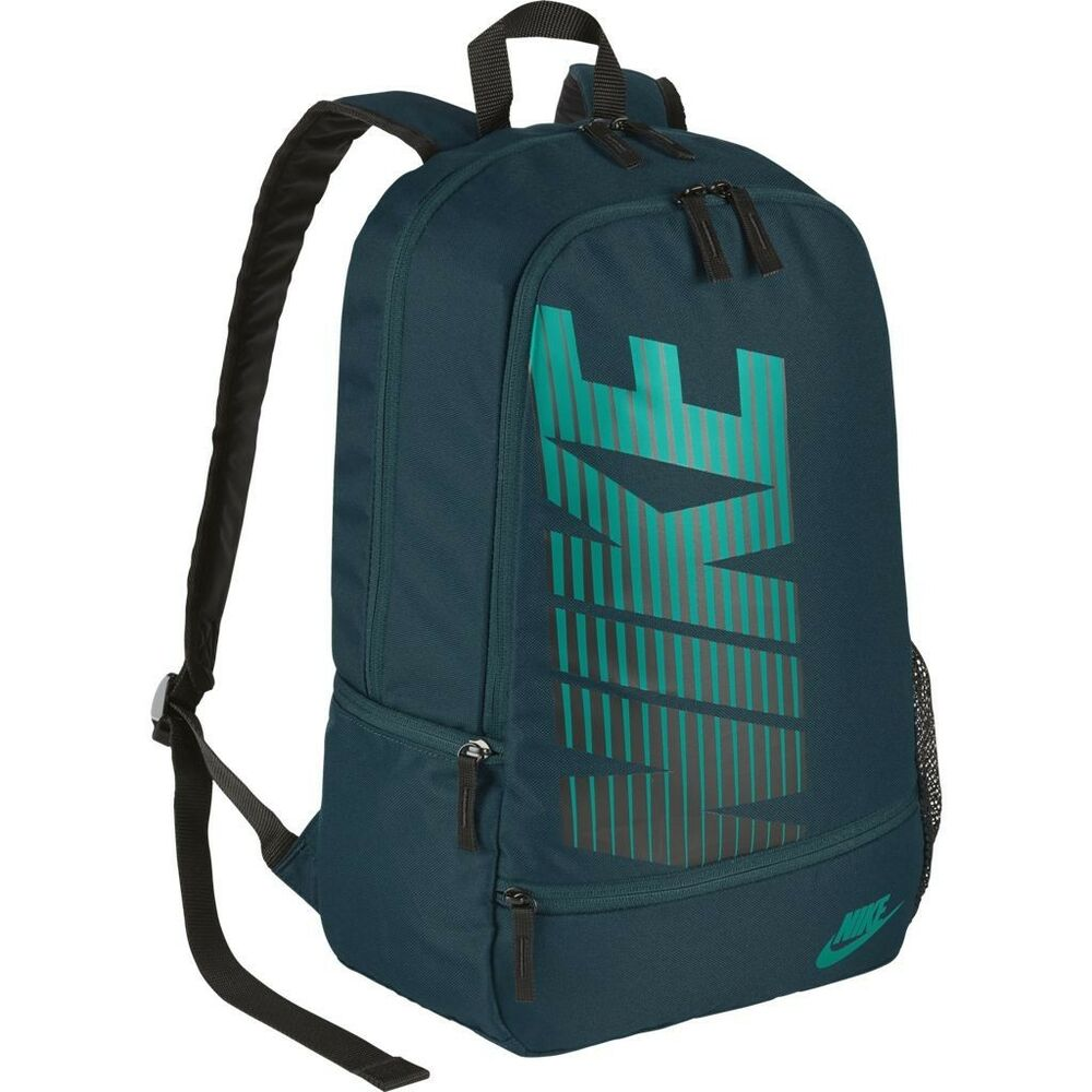 b5983a44c3 Details about NIKE CLASSIC NORTH BACKPACK MIDNIGHT TURQUOISE BA4863-021