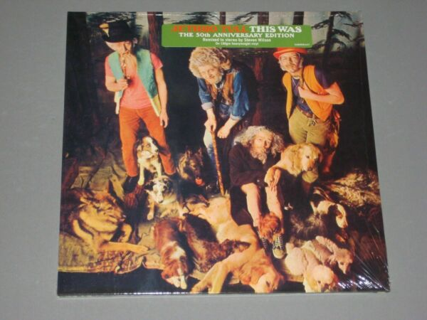 JETHRO TULL This Was (50th Anniversary Edition) LP PREORDER New Sealed Vinyl