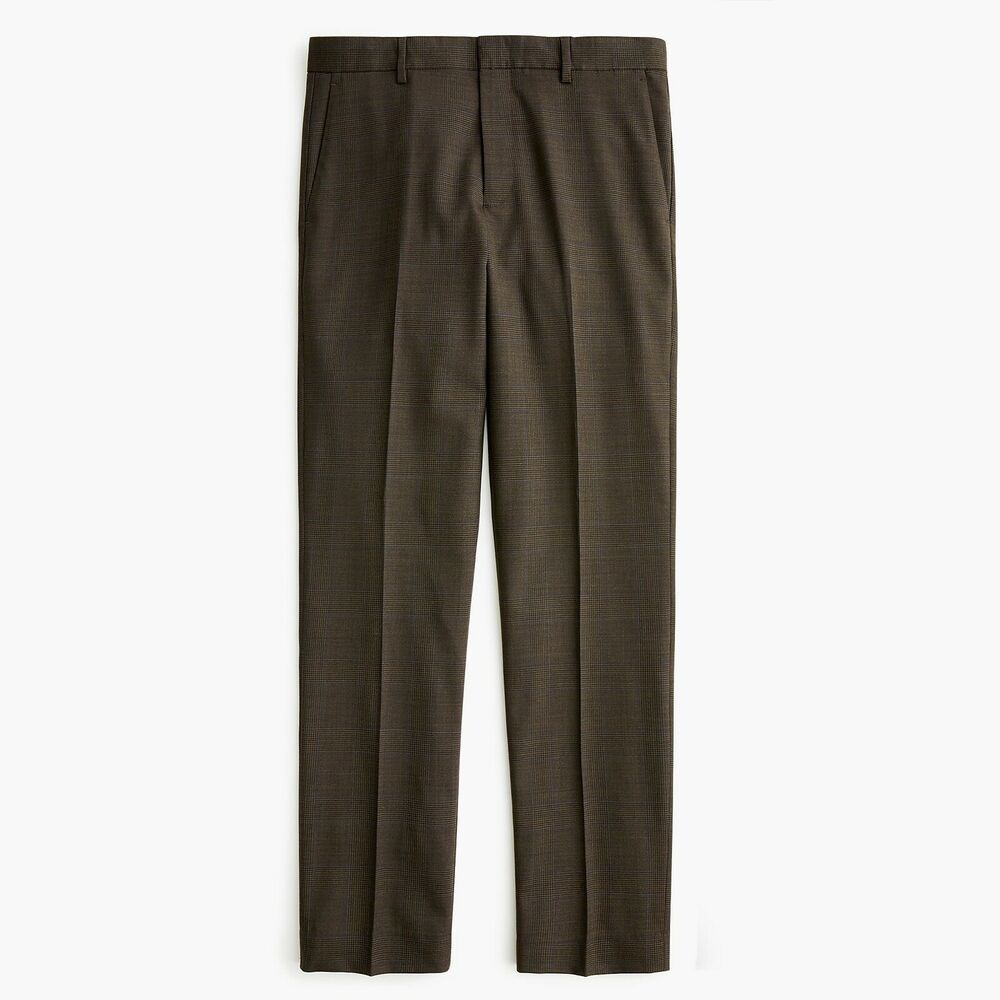 c01aa02c73101 Details about New J CREW 34 x 30 Ludlow Stretch 4 Season Wool Slim Fit  Green Forest Glen Pants