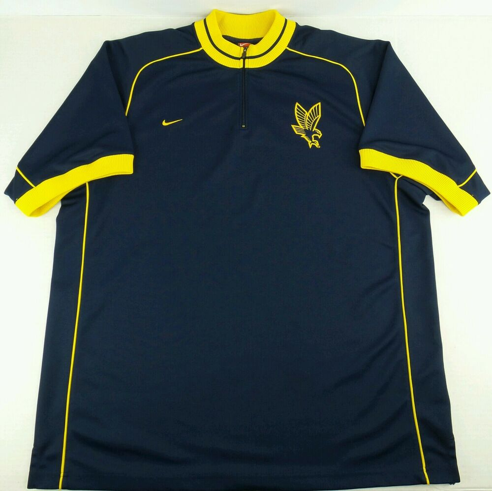 a5b104a72 Vintage Nike NCAA Marquette Golden Eagles WarmUp Basketball Jersey Size  Mens XXL