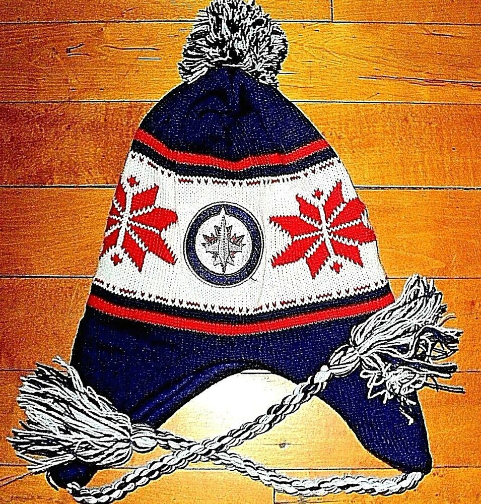 Details about   WINNIPEG JETS Budweiser   BRAND NEW Pom Pom Toque Ski Hat  Embroidered Logo d3ff687b27dd