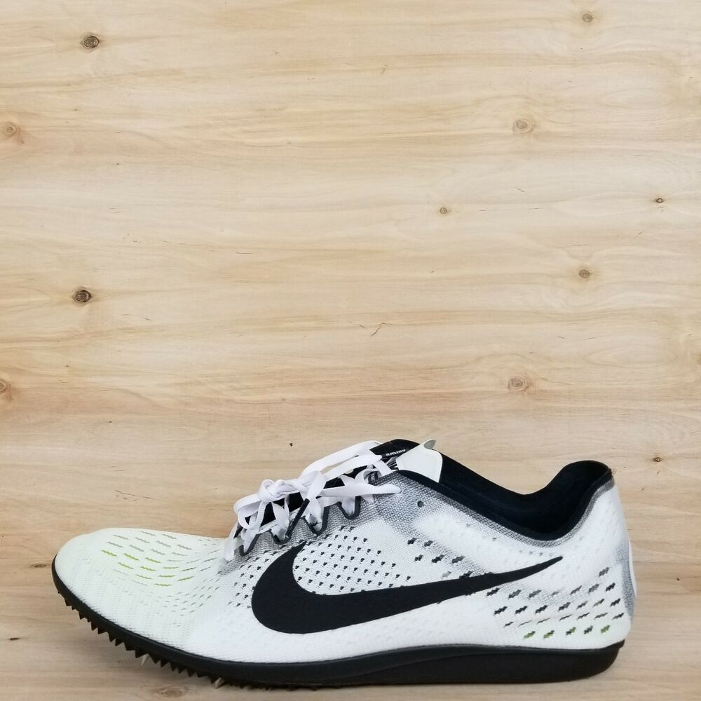 sports shoes f150f 92b58 Details about NIKE ZOOM MATUMBO 3 TRACK SPIKE SHOES WHT BLK OREO  835995  107  MEN S SZ 11.5