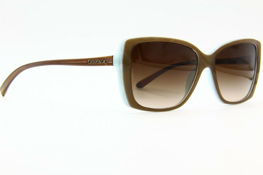 cbb1fb5c25 Details about NEW TIFFANY   CO. TF 4079 8168 3B BROWN AUTHENTIC SUNGLASSES  FRAME RX 57-16