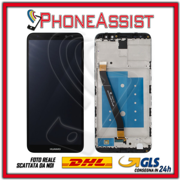 DISPLAY LCD VETRO TOUCH FRAME Huawei Mate 10 Lite RNE-L01 RNE-L21 RNE-L23 Nero