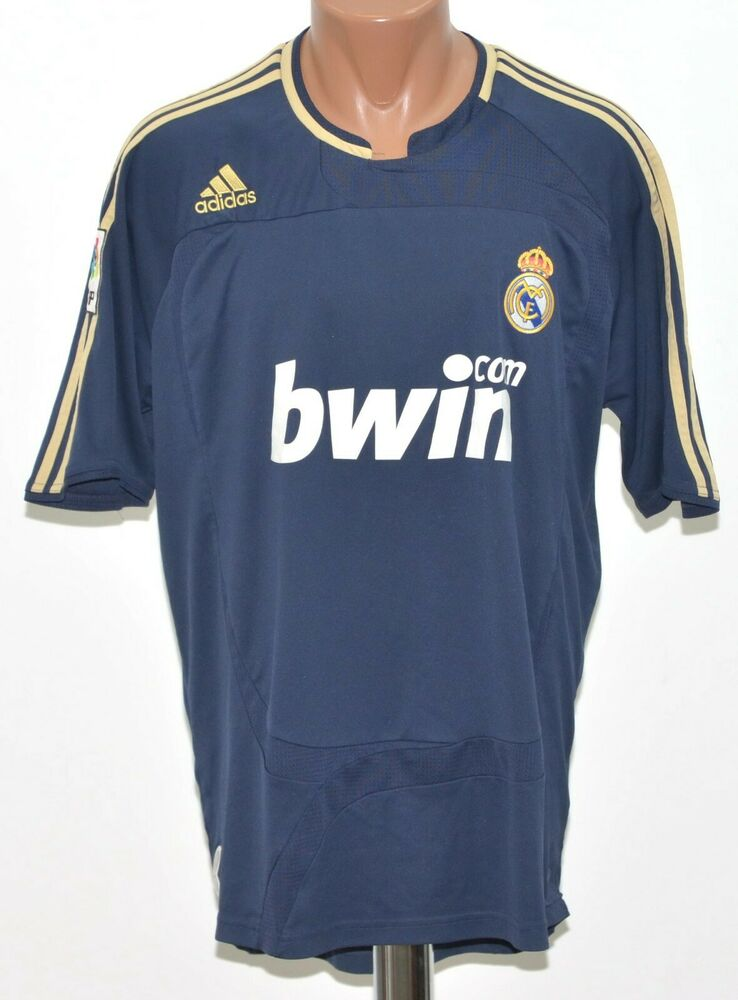 Details about REAL MADRID 2007 2008 AWAY FOOTBALL SHIRT JERSEY ADIDAS SIZE  XL ADULT f001bb10e