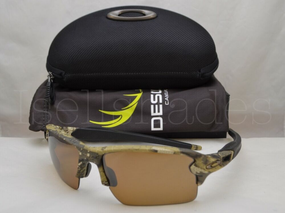 0681a7fe77 Details about Oakley FLAK 2.0 XL (OO9188-67 59) Desolve Bare Camo with  Black Iridium Lens