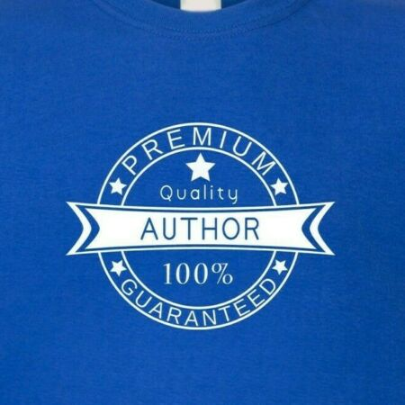 img-Author - Premium Quality 100% Guaranteed T-Shirt - Funny Writers Top