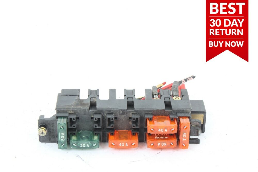 9299 Mercedes W140 500sel Under Hood Engine Fuse Relay Box Control Rhebay: 500sel S500 W140 Engine Fuse Box Get Free Image At Gmaili.net