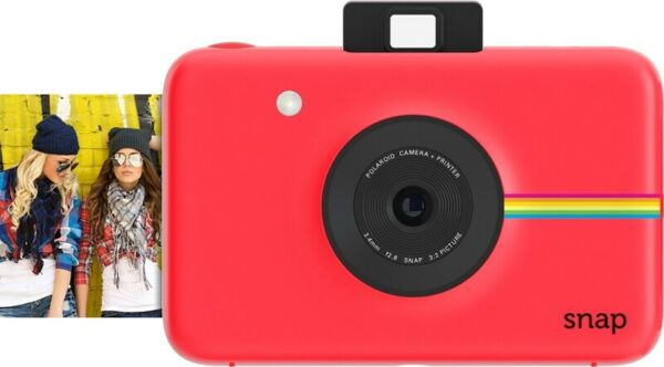 Polaroid Snap Rossa- Fotocamera Digitale a Stampa istantanea Zink